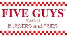 Logo de la cadena de hamburgueseras Five Guys