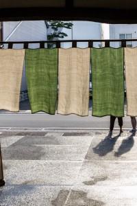 Takayama: entrada a un ryokan
