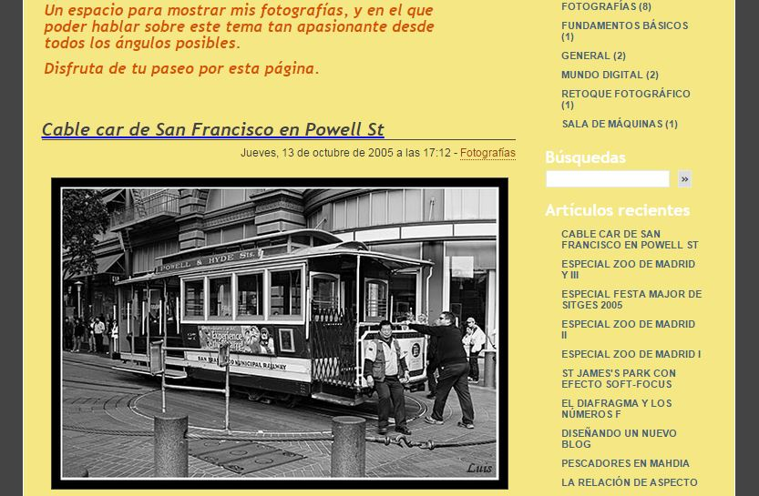 blog antiguo