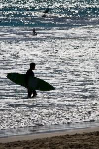 Surfer in Miami