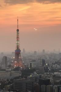 Torre de Tokio desde el hotel