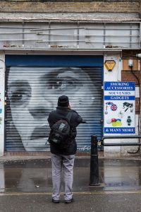 Arte callejero en Brick Lane