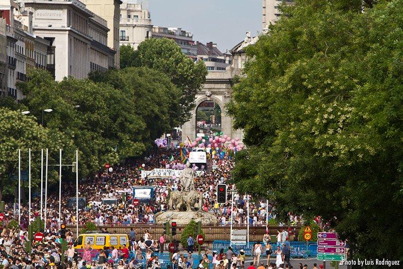 Orgullo en Madrid