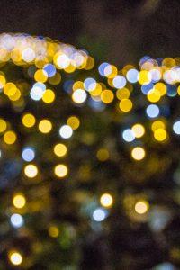 Luces de Navidad en Shinjuku