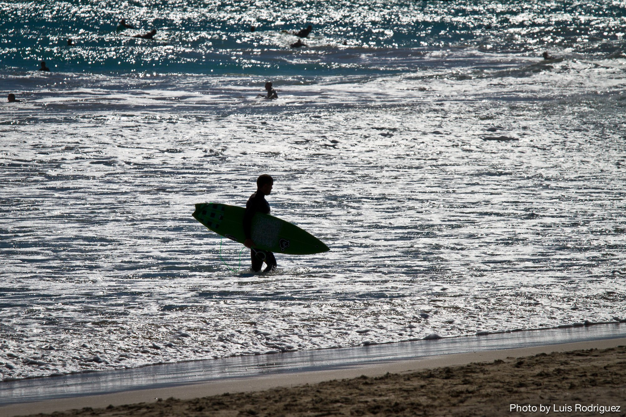Surfer in Miami
