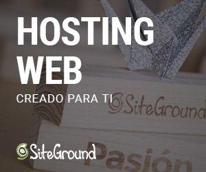 Hosting con SiteGround