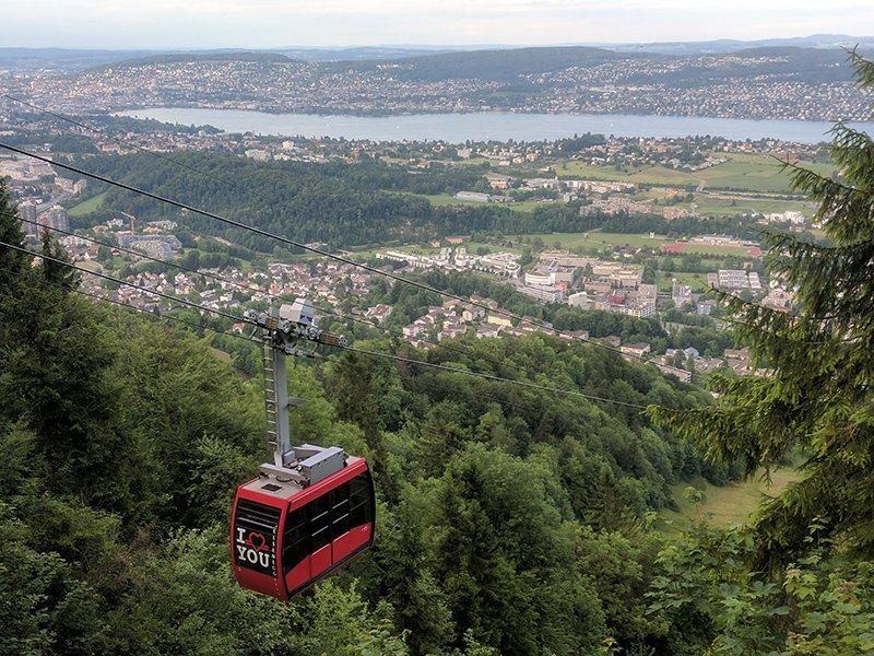 Vistas desde Felsenegg