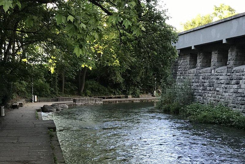 Canal en Zúrich
